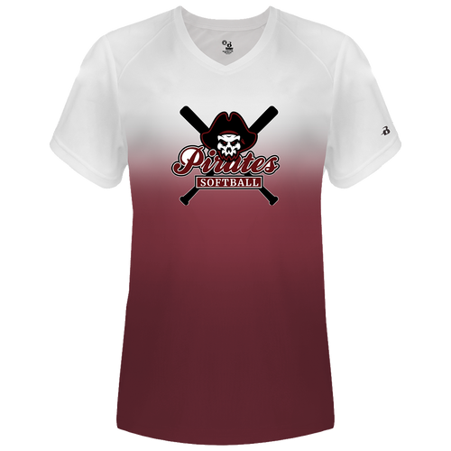 Rocky River Softball Ombre Practice Tee (F035)