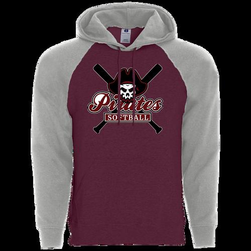 Rocky River Softball Banner Hoodie (F035)