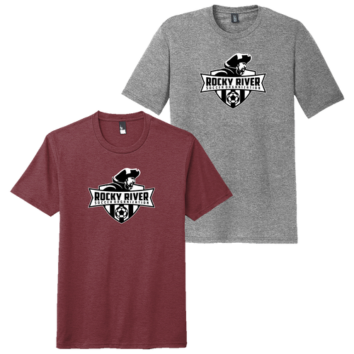 Rocky River Soccer Organization Perfect Tri Tee (F014)