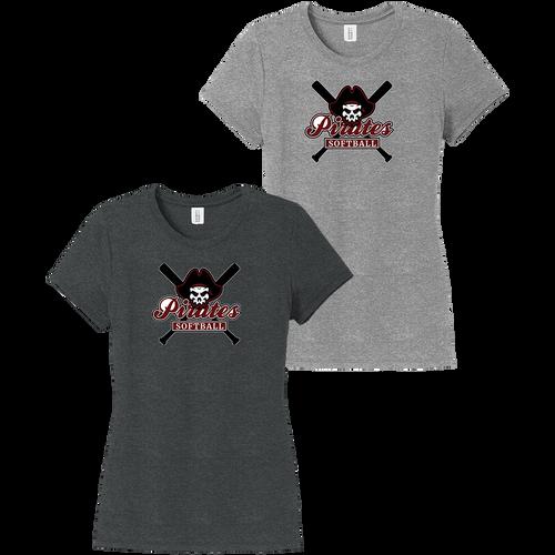 Rocky River Softball Ladies Perfect Tri Tee (F014)