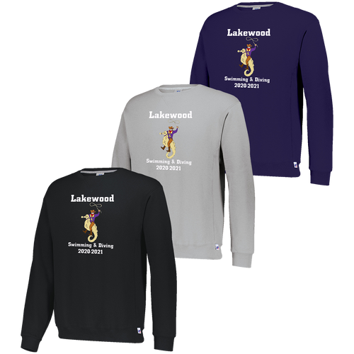 Lakewood High School Swimming & Diving Crewneck (F048)