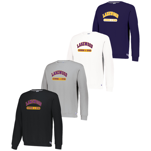 Lakewood High School Swimming & Diving Crewneck (F049/F050)