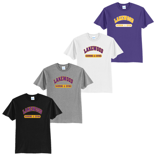 Lakewood High School Swimming & Diving Tee (F049/F050)
