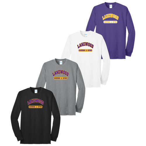 Lakewood High School Swimming & Diving LS Tee (F049/F050)