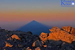 Sunset & Moonrise From Taranaki Mauna
