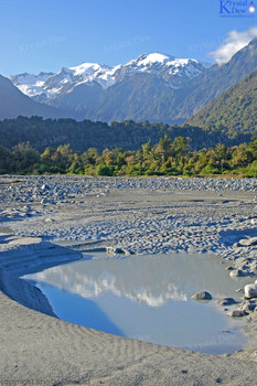 Southern Alps From The Waiho River