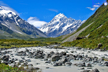 Aoraki Mt Cook & The Hooker River