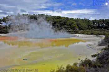 Champagne Pool, Waiotapu Thermal Wonderland