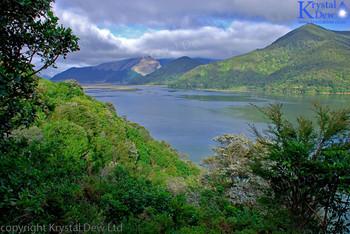 The Pelorous River & Kaikumera Bay From Cullen Point