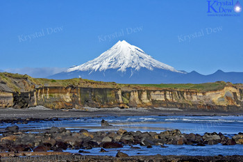 Taranaki From The Coast