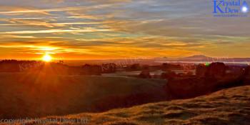 Sunrise Over Ruapehu