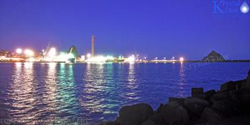 Port Taranaki At Dawn