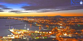 New Plymouth At Dawn