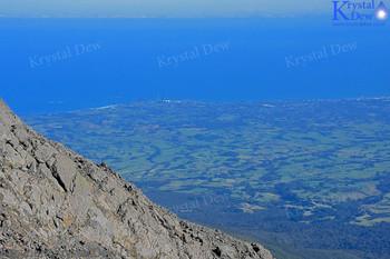 New Plymouth From The Est Ridge Of Taranaki