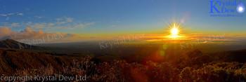 Sunrise From North Egmont