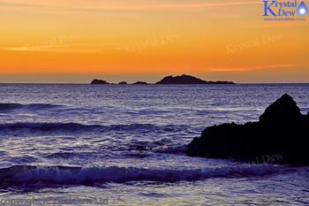 Sunset At Back Beach