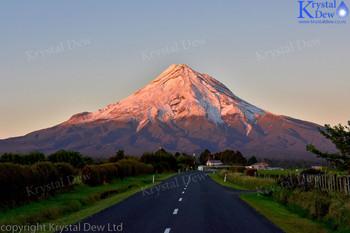 New Snow On Taranaki