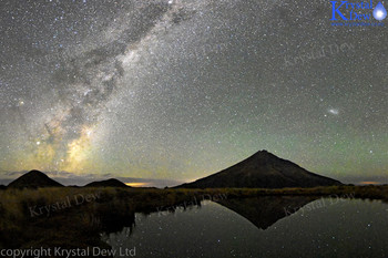 The Milkyway From Pouakai Tarn