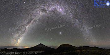 Taranaki & The Milky Way