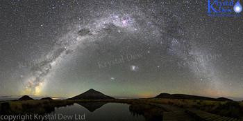 The Milkyway From Pouakai Tarn