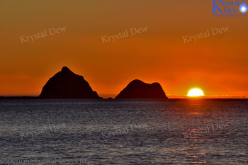 Sunset At New Plymouth