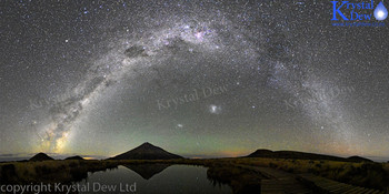 Milkyway From Pouakai Tarn
