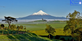 Taranaki In Winter