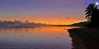 Rarotonga Sunset