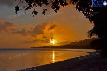 Sunset From Titikaveka