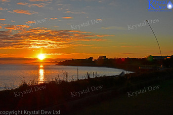 Sunrise In New Plymouth