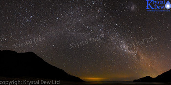 The Milky Way Over Bark Bay