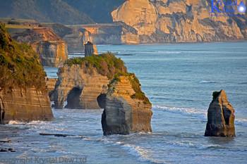 Tongaparutu , Three Sisters and Elephant rock