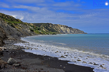 Paliser Bay coast line