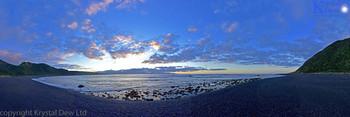 Sunrise over Palliser Bay