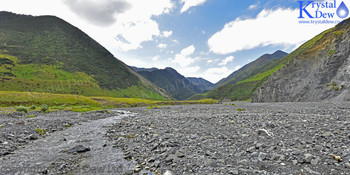A coastal river valley in the Rimutakas