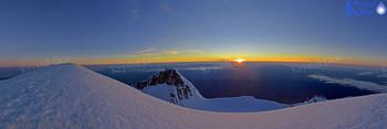 Sunrise From Summit Of Tarnaki