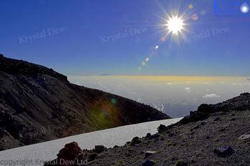 Sunrise shots taken from Fanthems Peak