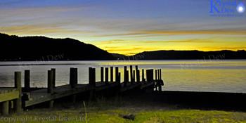 Sunset at Lake Rotama