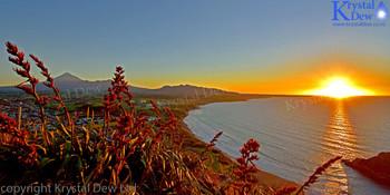 Sunset from Paritutu