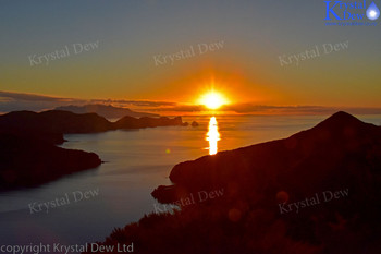 Sunset From Great Barrier Island