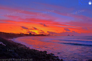 Sunset from New Plymouth Foreshore