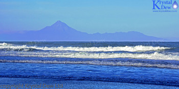 Taranaki from Awakino beach