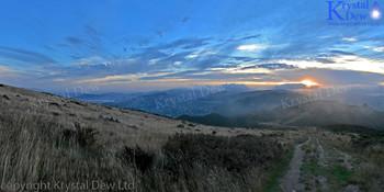 Sunset From Mt Kau Kau