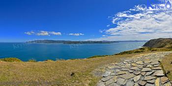 Wellington Harbour From Pencarrow Lighthouse