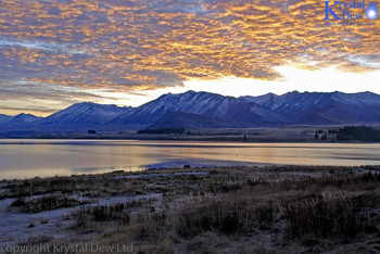 Lake Tekapo At Sunrise