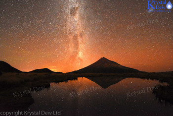 Nightsky from Pouakai tarn