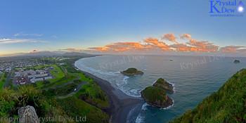Sunrise From Paritutu