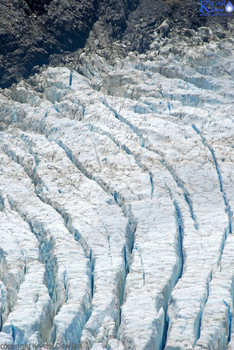 Frans Josef Glacier Aerial view
