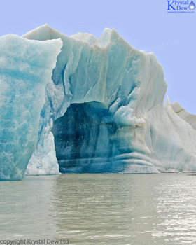Iceberg On Tasman Lake