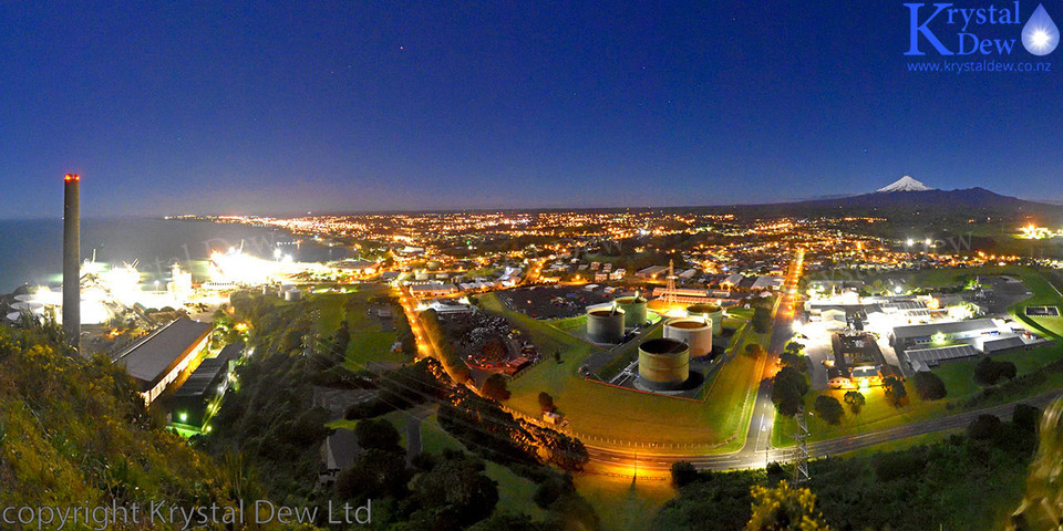Taranaki & New Plymouth City Lights